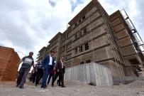 Başkan Kılca, Hamzaoğlu Mahallesindeki Okul İnşaatını İnceledi