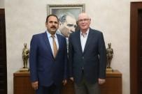 Cumhuriyet Başsavcısı Murat İrcal'dan Başkan Kazım Kurt'a Ziyaret