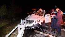 Konya'da Trafik Kazası Açıklaması Anne-Oğul Öldü, Baba Yaralandı