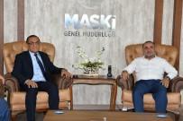 KANALİZASYON ÇALIŞMASI - MÜSİAD'tan MASKİ Genel Müdürü Karataş'a Ziyaret