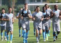 NIHAT ÖZDEMIR - Trabzonspor, AEK Maçı Hazırlıklarını Sürdürdü
