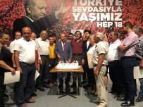 AK Parti Tunceli'de, 18'İnci Yaşını Kutladı