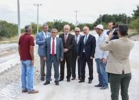 GÖLGELI - Çamlıca'daki Duble Yol Asfaltlanıyor