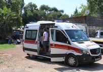 Kontrolden Çıkan Kamyonet Takla Attı Açıklaması 2 Yaralı