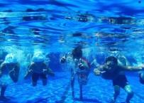 Manyas'ta Çocuklara Yüzme Kursu Verildi