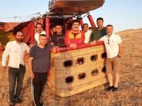 Sağlıkçılar Dara'da Balon Turuna Katıldı