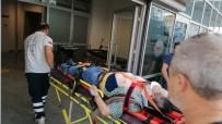 Sebze Yetiştirdiği Garaj Çatısından Aşağı Düşen Yaşlı Adam Yaralandı