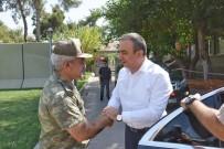 Vali Soytürk'ten Garnizon Komutanı Cihanoğlu'na Ziyaret