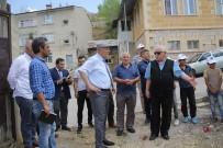 Başkan Pekmezci, Karasakal Mahallesi'nde İncelemelerde Bulundu