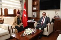 Bayburt Vakfı Kadın Kolları Başkanı Dölek, Vali Cüneyt Epcim'i Ziyaret Etti