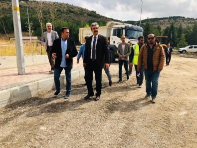 Belediye Başkanı Köse, Çalışmaları Yerinde İnceledi