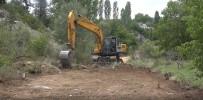 MÜKERREM TOLLU - Erdemli'de Yeni Yol Çalışmaları Sürüyor