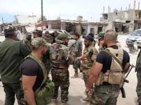 REJIM - Esad Rejim Güçleri Han Şeyhun'a Girmeye Başladı