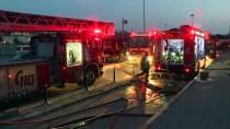 Küçükçekmece'de Hastanede Yangın