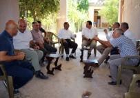 MEHMET ÇIFTÇI - Dicle Elektrik, Muhtar Ziyaretlerini Sürdürüyor