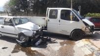 İslahiye'deki Kazada 4 Kişi Yaralandı