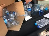 Kırşehir'de İçki Operasyonu 2.5 Litre Kaçak İçki Ele Geçirildi