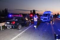 İBRAHIM ÇIÇEK - Kütahya'da zincirleme kaza: 3 ölü, 4 yaralı