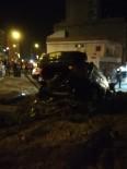 Mardin'de Trafik Kazası Açıklaması 2 Yaralı