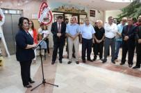 'Sudaki Damlaların Huzuru' İsimli Ebru Sergisi Açıldı