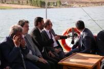 Vali Cüneyt Epcim, Demirözü Barajında İncelemelerde Bulundu