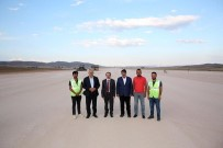 Vali Epcim, Bayburt - Gümüşhane Havalimanı Çalışmalarını Yerinde İnceledi