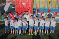 Bigaspor Yaz Futbol Okulunda Madalyalı Kapanış Töreni