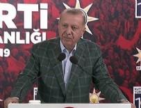 Erdoğan'dan Rize'de önemli açıklamalar!