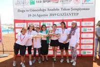 FATMA ŞAHIN - Erkeklerde Gaziantep Tenis İhtisas Kulübü Birinci Oldu