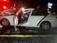 CENAZE ARACI - Hurdaya Dönen Otomobil Sürücüsü Hayatını Kaybetti