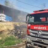 Salihli'de Çiftlik Yangını