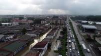 Samsun-Ordu Yolunda Trafik Kitlendi