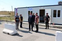 Vali Çakır'dan Göçmen Barınma Merkezine Ziyaret