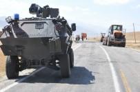 Yüksekova'da Sivil Aracın Geçişi Sırasında Patlama Açıklaması 2 Yaralı