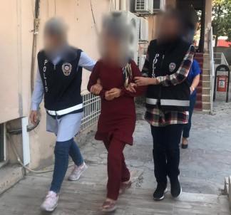 Çalışmaları engelleyip, kadın polisin kolunu ısırdı