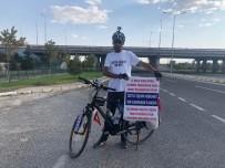 İşine Geri Dönmek İçin Bisikleti İle 600 Kilometre Yol Gidecek