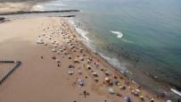 Nemden Bunalan Vatandaşlar Riva Plajına Akın Etti