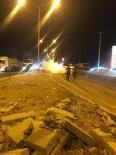 Nusaybin'de Yanan Otomobile TOMA İle Müdahale