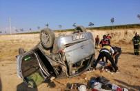 Aksaray'da Otomobil Takla Attı Açıklaması 1 Ölü, 3 Yaralı