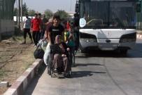 Bayramı Ülkelerinde Geçiren Suriyeliler Dönüyor