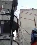 Diyarbakır'da Elektrik Tellerine Takılan Güvercini DEDAŞ Ekipleri Kurtardı