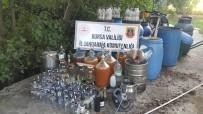 VOTKA - Evde İçki İmalatına Jandarmadan Baskın