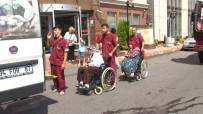 Gaziosmanpaşa'da Trafo Merkezinde Çıkan Yangın Hastaneyi Boşalttırdı