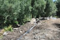 İran Sınırındaki Şifalı Suda Su Onarım Çalışmaları Başladı