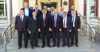 VERGİ DAİRESİ - İTSO'dan Yalçın Ertaş'a Ziyaret