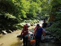 Kanyonda Mahsur Kalan Yaralı Vatandaş İçin Kurtarma Ekipleri Seferber Oldu