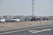 Kars'ta Trafik Kazası Açıklaması 2 Yaralı