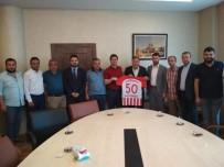 Nevşehir Belediyespor Yönetimi, NTSO Başkanı Parmaksız'ı Ziyaret Etti