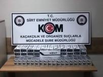 Siirt'te 750 Paket Kaçak Sigara Ele Geçirildi