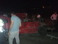 Kahramanmaraş'ta Zincirleme Trafik Kazası Açıklaması 1 Ölü, 5 Yaralı